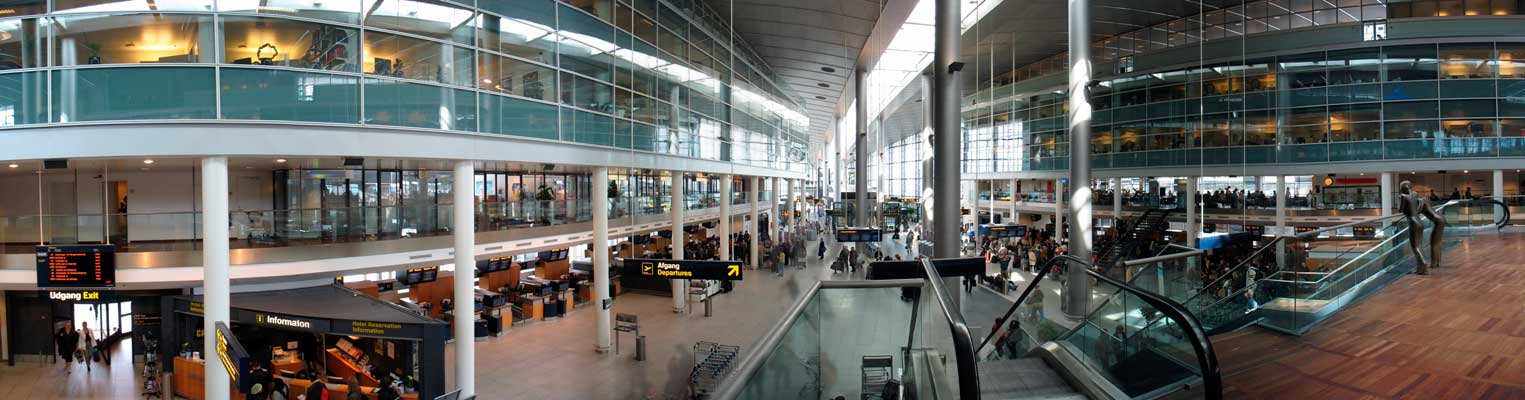 Copenhagen Airport It is the largest airport in Scandinavia and Nordic countries and one of the oldest ones in Europe
