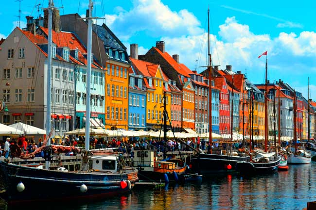 Between the months of May to August is the best time of the year to visit Copenhagen